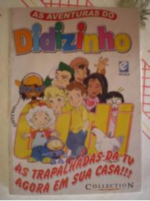 As Aventuras Do Didizinho Nº 1 ! Encadernado Editora Escala!