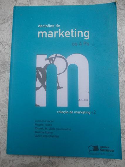* Livro Decisões De Marketing Os 4 Ps Coleção Marketing V. 2