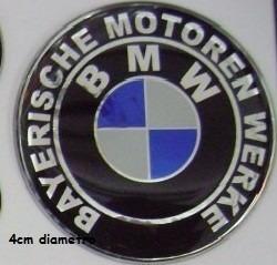 Adesivo Descritivo Bmw Resinado Moto Carro 4cm Diametro T3at
