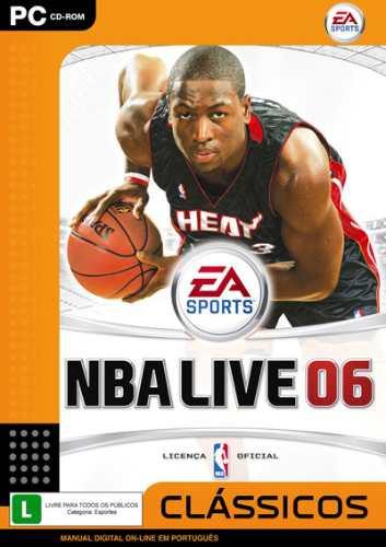 Game Pc Nba Live 06 Edição Clássicos Cd Rom