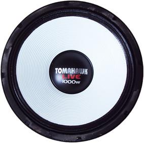 Alto Falante Tomahawk Live 15 1000 4 Ohms Branco Reparo Novo