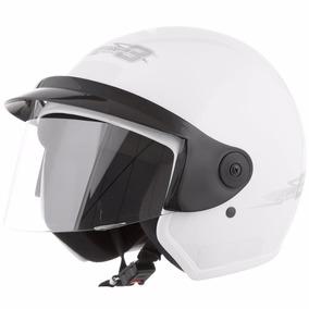 Capacete Motociclista Aberto Pro Tork Liberty Three Branco