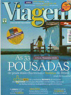 Viagem E Turismo 144 * Out/07 * As 33 Pousadas
