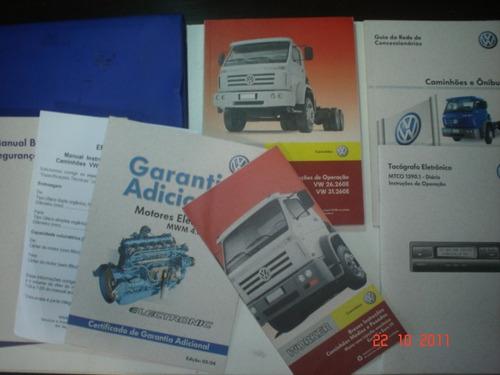 Manual Caminhão Vw Worker 26.260e 31.260e Bau Truck