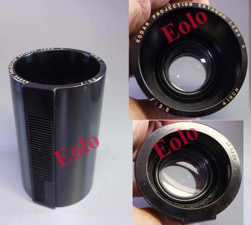 Projetor Kodak Carousel - Lente Normal   Ektanar 4 Pol.