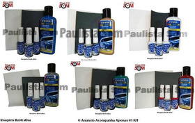 Kit Tapa Risco® Light + Cera Colorida Automotiva P/ Veiculos