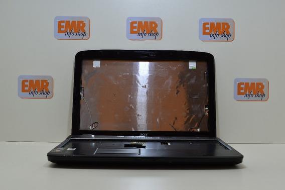 Carcaça Acer 5535-5050 Usada Completa C/touch Pad/tampa Dvd.
