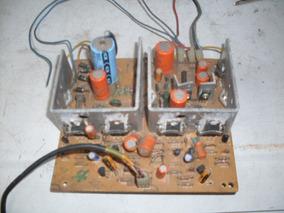 Placa De Amplificador 3x1 Cce Original Trasistorisada