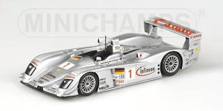 1:43 Minichamps Infineon Audi R8 Sebring 12 Hrs 2003 #1