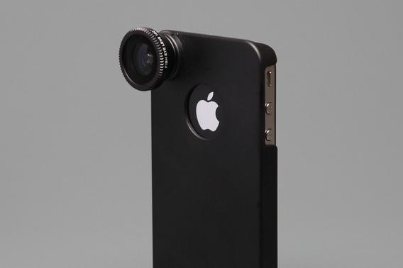 Lente Fisheye Para Iphone 4 & 4s - Fotos Profissionais