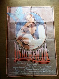 Cartaz Inocencia Edson Celulari Fernanda Torres Lima Barreto