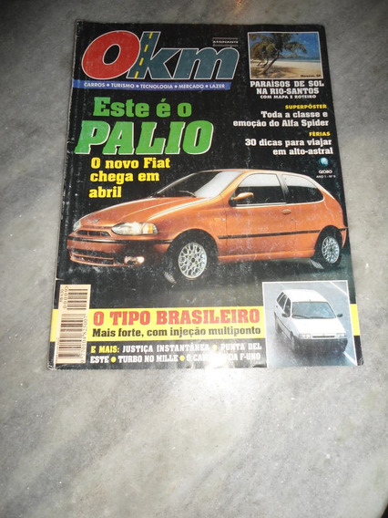 Revista 0km Nº 9 - Palio, Alfa Spider, Salão Automoveis