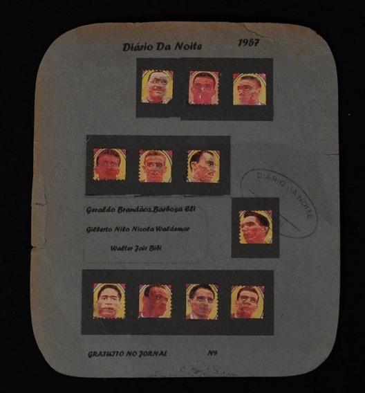 Raro Álbum Figurinhas Do Bonsucesso F.c. De 1957 Na Cartela