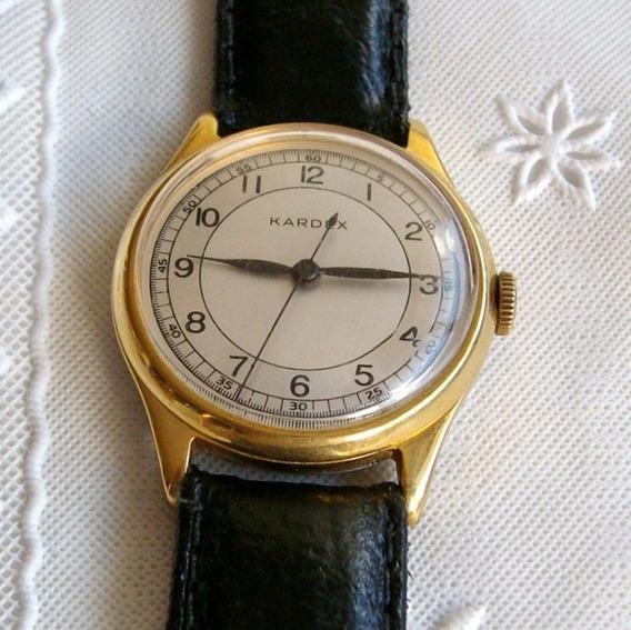 Relógio Masculino De Pulso A Corda Kardex.