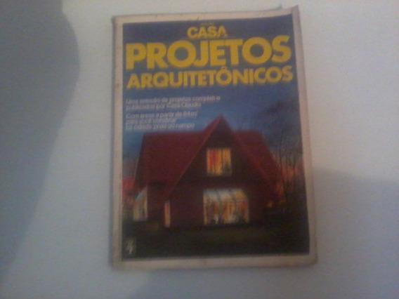 Revista Antiga Projetos Arquitetonicos - Frete 11,00