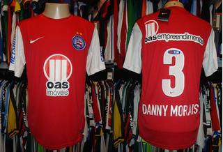 Bahia - Camisa 2012 Reserva 3 # Danny Morais
