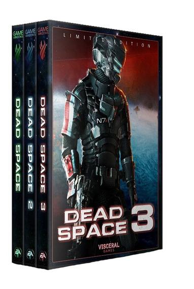 Combo: Dead Space - Trilogia - Pc Dvd - Frete 8 R$