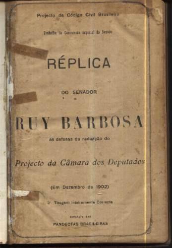 Livro Do Ruy Barbosa De 1902 - Jurista , Orador E Pandecta