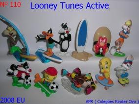 Kinder Ovo - Coleção Completa - Looney Tunes Active