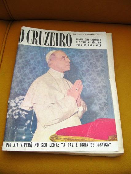 Cruzeiro 1958 Seleçao Ouro De Sordi Mazzola Liz Taylor Papa