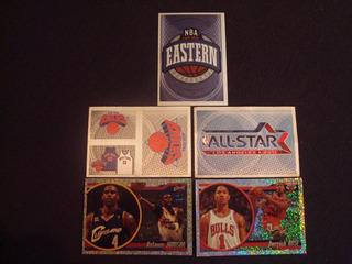 Figurinhas Nba Sticker Album 2010-2011 - Cinco Especiais (1)