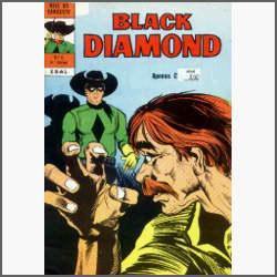 Black Diamond Nº 6: O Golpe Decisivo - Ebal - 1975 - Hq
