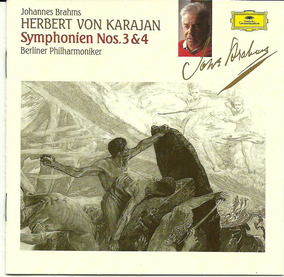 Johannes Brams Herbert Von Karajan Cd Importado - Grammophon