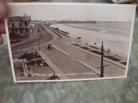 Cartão Postal Antigo Avenida Da Paz - Maceió - Al