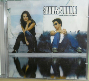 Cd Sandy & Junior Internacional Original Pop Rock Dance Funk