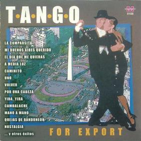 Tangos For Export Carlos Gardel Virginia Luque Cd Importado