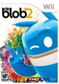 Jogo Original E Lacrado De Blob 2 Para Nintendo Wii