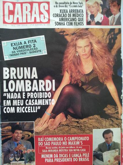 Revista Caras-bruna Lombardi