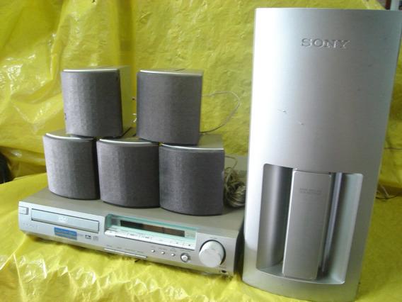 Home Theater Sony Dav-s300 Prata - C/ Cxs+sub - Impecavel