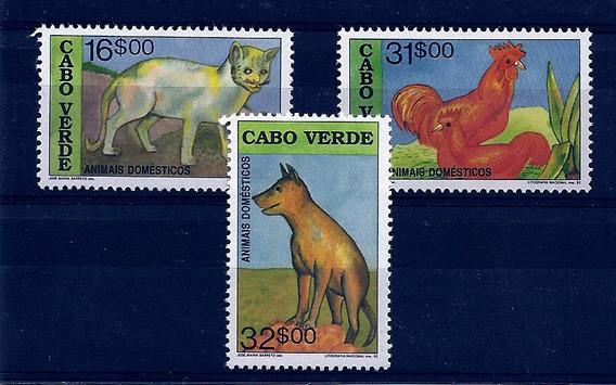 Lsjp Cabo Verde Gato Cachorro Galo 1992
