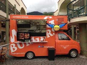 Food Truck Com Freezer, Geladeira, Fogão E Chapa - Gás/elét.
