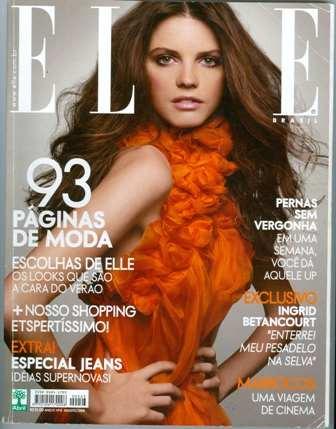 Revista Elle 242 Jeisa Chiminazzo Meg Ryan 2008 Frete Gratis