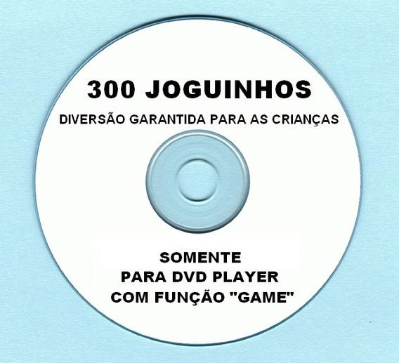 Cd 300 Jogos P/ Dvd C/ Função Game Philco,britânia,nks, Etc!