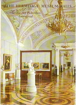 Cartão Postal The Hermitage Museum Halls
