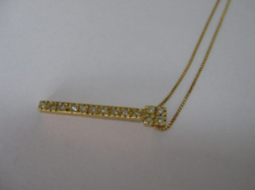 Ivi1388 = Colar C/pingente Ouro 18k-750 Diamantes !!!!