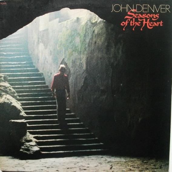 Lp John Denver-seasons Of The Heart-1982-otimo Estado.