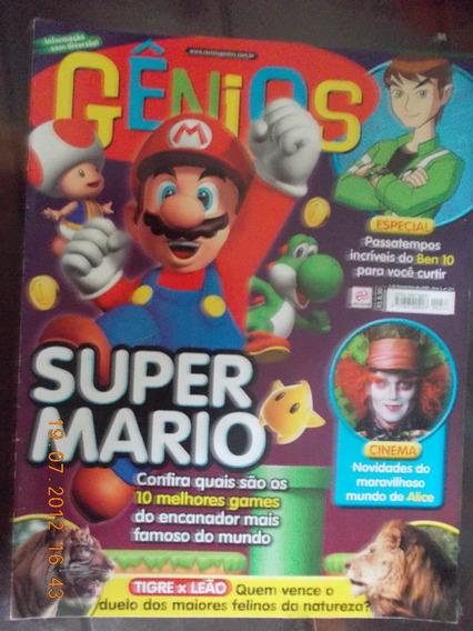 Gênios - Super Mario/ Mundo De Alice/ Passatempos Ben 10