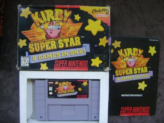 Kirby Superstar Original Americana E Completa.confira!!