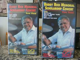 Buddy Rich Memorial Scholarship Concert Vol 3 & 4 (vhs)