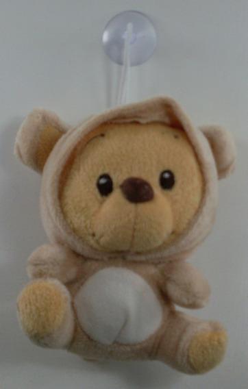 Boneco De Pelúcia Do Pooh 11,5 Cm Fantasiado De Ursinho
