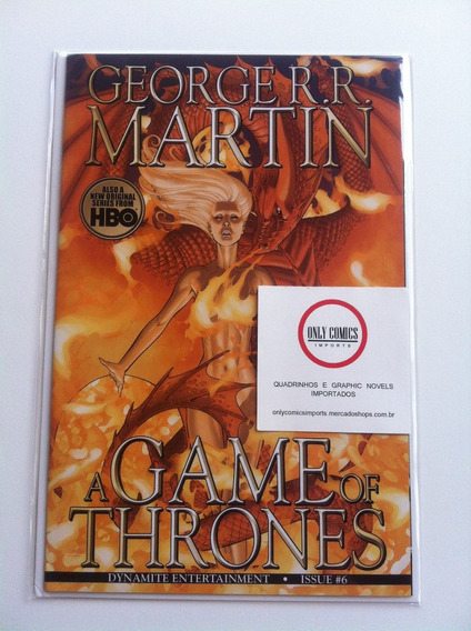 Game Of Thrones - Pack # 6 A 10 (2012) Dynamite