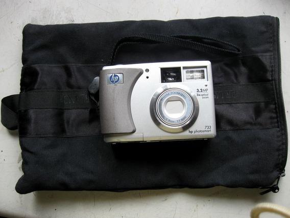 Câmera Digital Hp Photosmart 733 - Não Está Ligando!