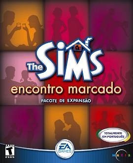 The Sims Encontro Marcado Expanção Jogo Pc Original Completo