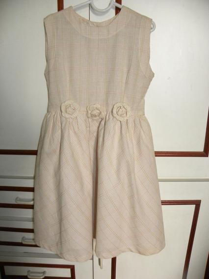 Vestido Verão Infantil Tamanho 6 Sem Uso Queima Estoque