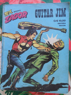Zagor Nº 2! Guitar Jim R$ 23,00!