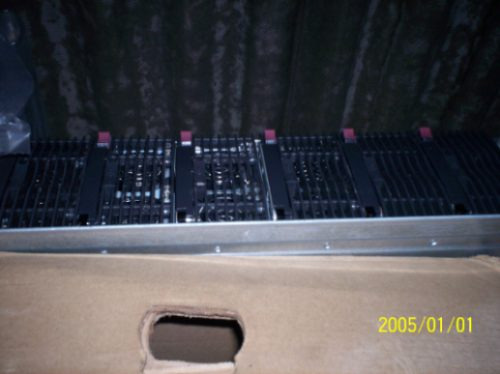 Servidor Hp Blade 3.4, 4gb Memoria, Inteiro Ou Peças, Rj45,